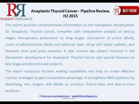 Anaplastic Thyroid Cancer Pipeline Review and Overview H2 2015