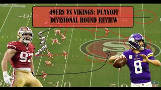 Film Review: 49ers VS Vikings, Divisional round