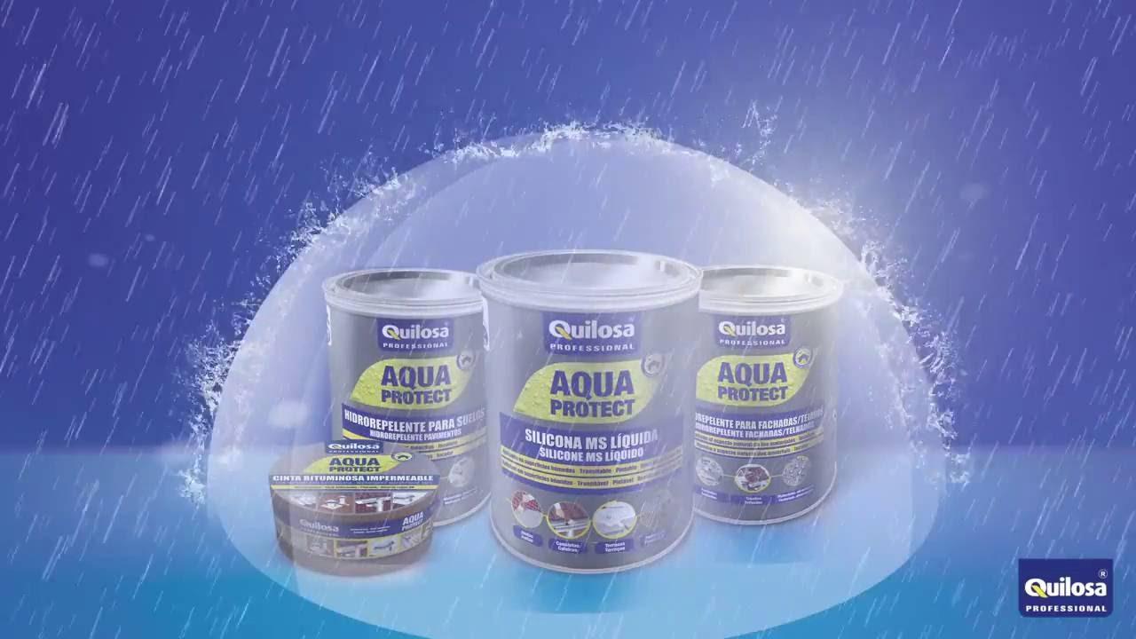 Aquaprotect Silicona MS Líquida La solución final a las hu
