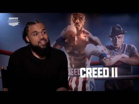 Steven Caple, Jr Creed 2 Interview