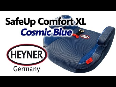HEYNER SafeUp Comfort XL Cosmic Blue - бустер - видео обзор 130.com.ua