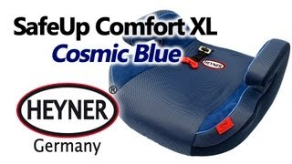 HEYNER SafeUp Comfort XL Cosmic Blue — бустер — видео обзор 130.ua