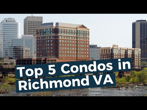 Top 5 Condo Buildings In Richmond Virginia
