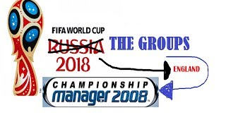 FIFA World Cup 2018 Groups - According to Championship Manager 2008