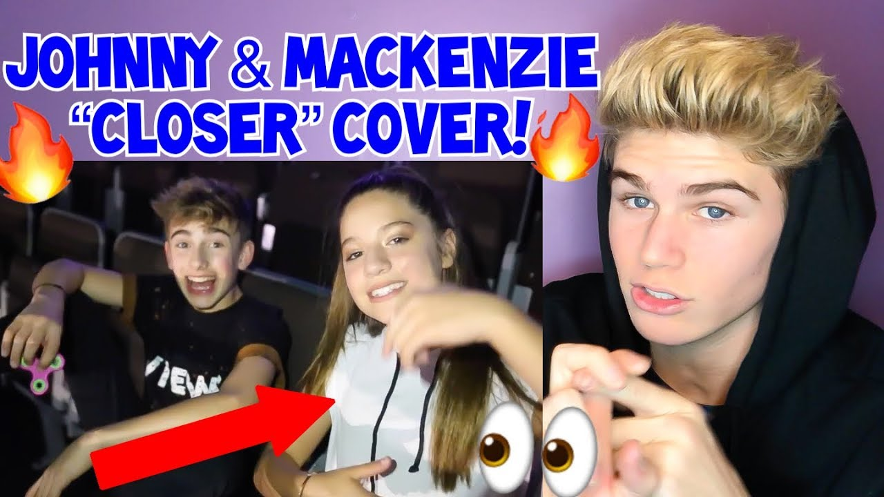 They Sound So Good Closer Cover By Johnny And Mackenzie Reaction Must Listen 2018 Jenzie