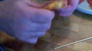 Prosciutto Wrapped Prawns