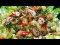 GỎI CHAY - mì căn trộn salad món chay đãi tiệc ngon dễ làm | món ngon tại nhà