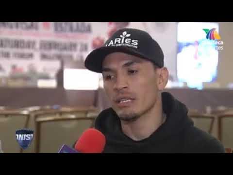 El Gallo Estrada Emocionado Porque peleará por El Cinturón Del CMB y además el The Ring Magazine
