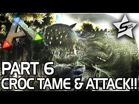 SARCO TAMING, UNDER ATTACK!! -  ARK Survival Evolved PS4 PRO Gameplay Part 6