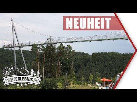 Skywalk Pottenstein: 130 m Hängebrücke am Erlebnisfelsen Pottenstein