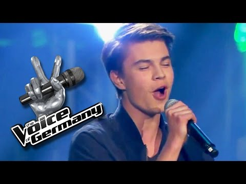 A Thousand Miles  Vanessa Carlton  Linus Bruhn   The Voice of Germany 2015   Audition