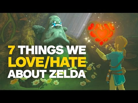 7 Things We Love and Hate About Zelda: Breath of the Wild