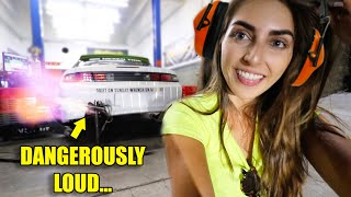 I MADE THE WORLD'S LOUDEST LS! + NEW DYNO RECORD! *headphone warning*