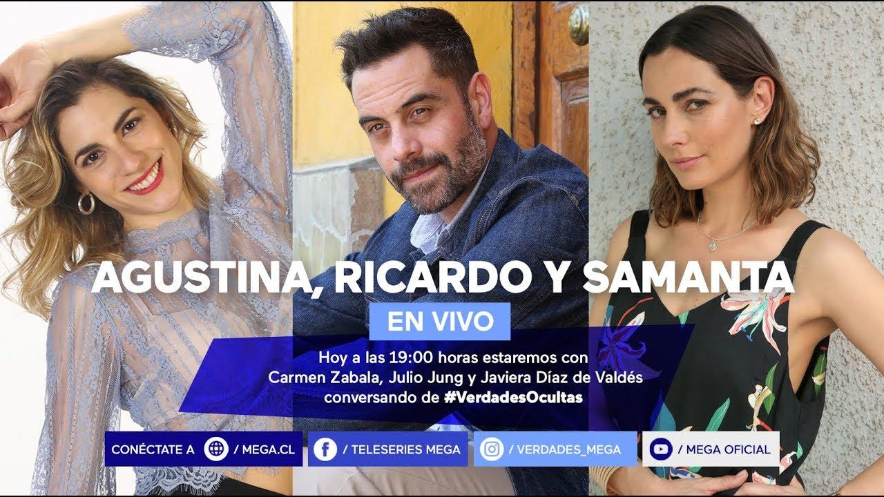 #VerdadesOcultas / Hoy estaremos con Carmen Zabala, Julio Jung y Javiera Díaz de Valdés