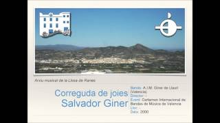 Correguda de joies - S.Giner [Versión Banda]