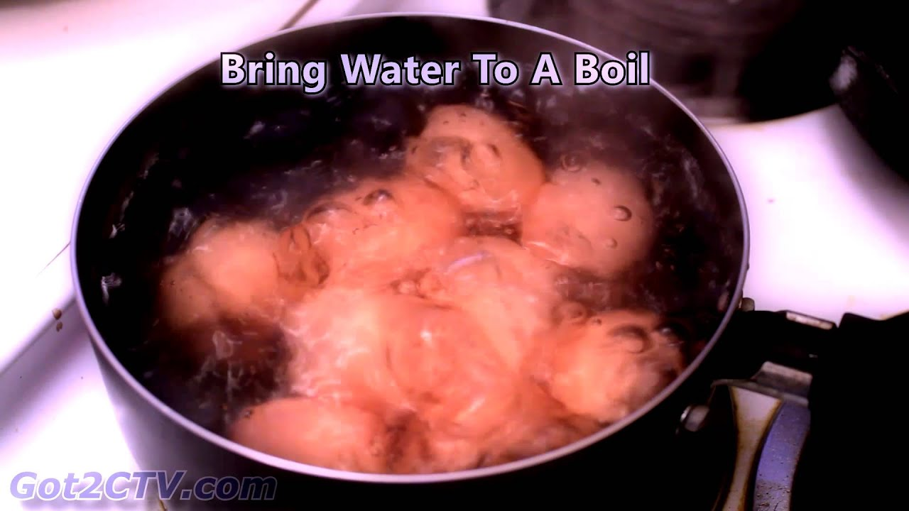 How Long To Boil Eggs  Hard Boiled