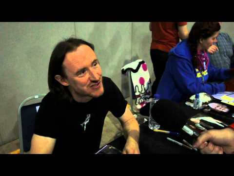 Ben Crompton | Newcastle Film and Comic Con - YouTube