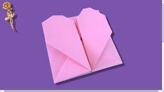 Origami : 💌 Enveloppe-pochette 💟 Cœur 💖
