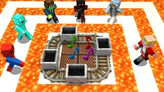 I Hosted Musical Chairs in Minecraft...