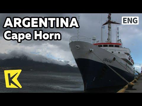 【K】Argentina Travel-Cape Horn[아르헨티나 여행-케이프혼]케이프 혼 해역/Cape Horn/Icebreaker/Ship/Sunset/Bird/Noa