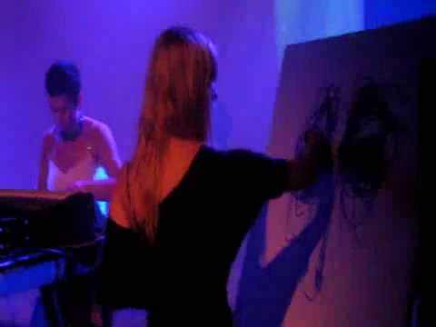 9 ELMA - Slow Moon (live at Noxious Art Festival, 05/09/2009, Paris, La Maroquinerie)