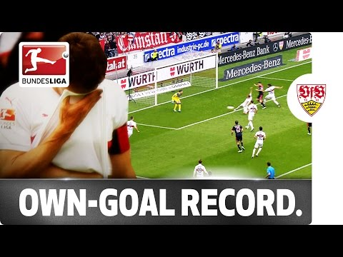 Six Own Goals This Season - Stuttgart Set Unwanted Bundesliga Record
