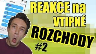 REAKCE na NEJVTIPNĚJŠÍ ROZCHODY PO TELEFONU! #2
