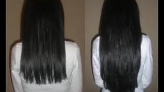 How to grow your hair faster and longer naturally at home