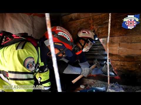 Ejercicio final curso internacional Búsqueda y Rescate en Estructuras Colapsadas (BREC) OBA-ASONBOMD