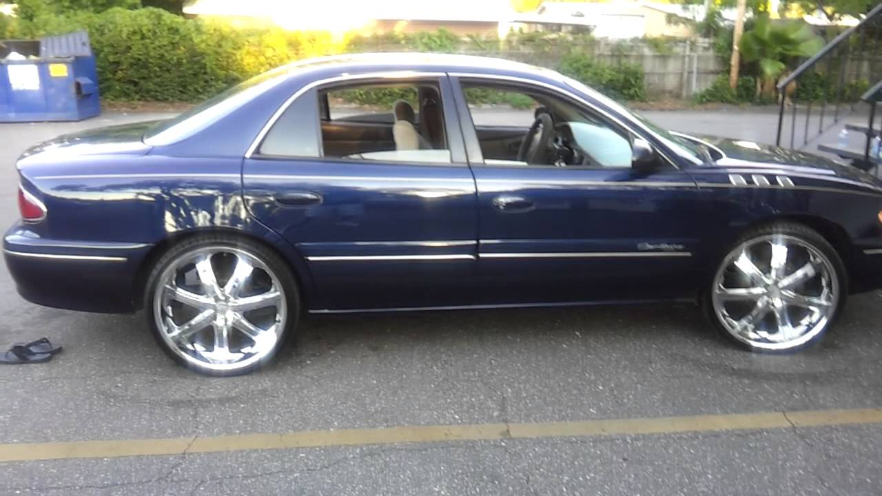 "2001 buick century on them 22"" - YouTube"