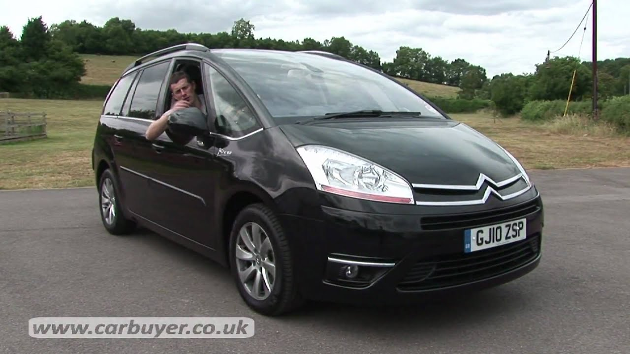 citroen c4 grand picasso mpv 2007 2013 review carbuyer youtube. Black Bedroom Furniture Sets. Home Design Ideas