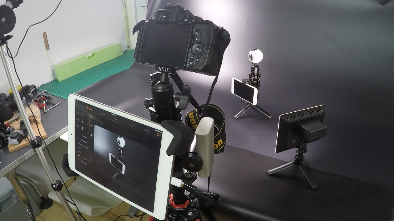Pica Gear mounting and using an iPad as a DSLR monitor