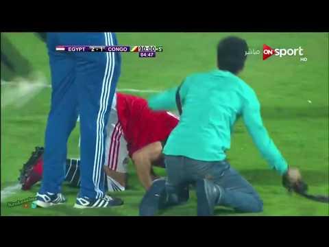 Égypte vs Congo  2e but et scenes de joie apres la qualification de l Egypte