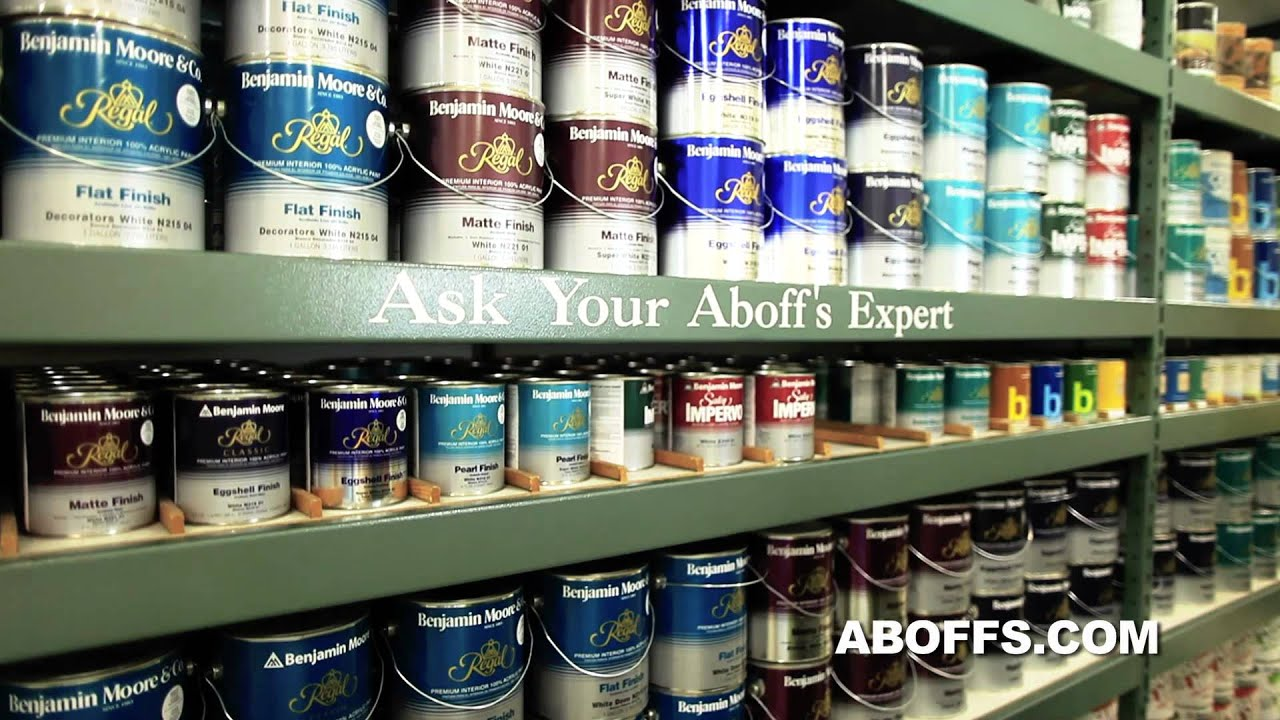 Aboff 39 s your neighborhood paint store by youtube for Homedepot colorsmartbybehr com paintstore