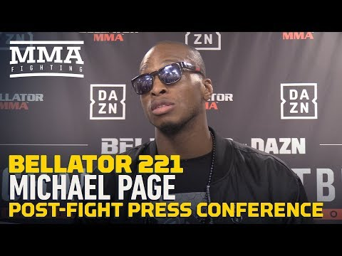 Bellator 221's Michael Page On Douglas Lima: 'If I Could Lose To Anybody, I'm Glad It Was Him'