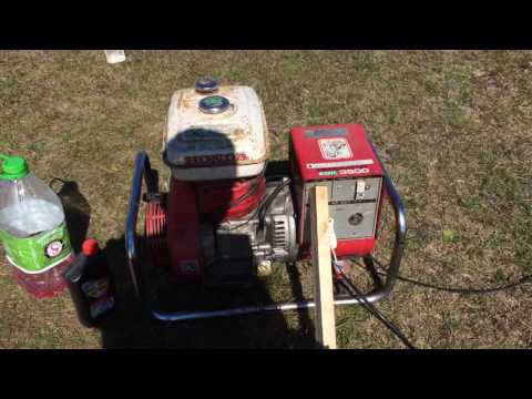 Vintage honda generator
