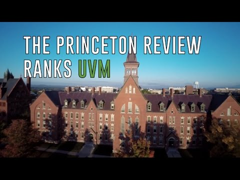 Princeton Review Ranks The University of Vermont
