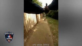 شاهد: شرطي أطلق النار على كلب فقتل امرأة