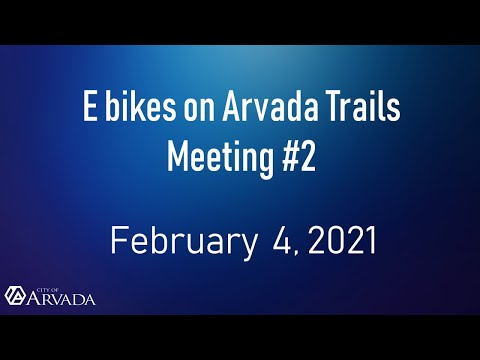 Recording of February 4, 2021 Public Meeting