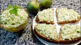Салат-закуска из зеленой редьки 🌟 Salad-appetizer of green radish