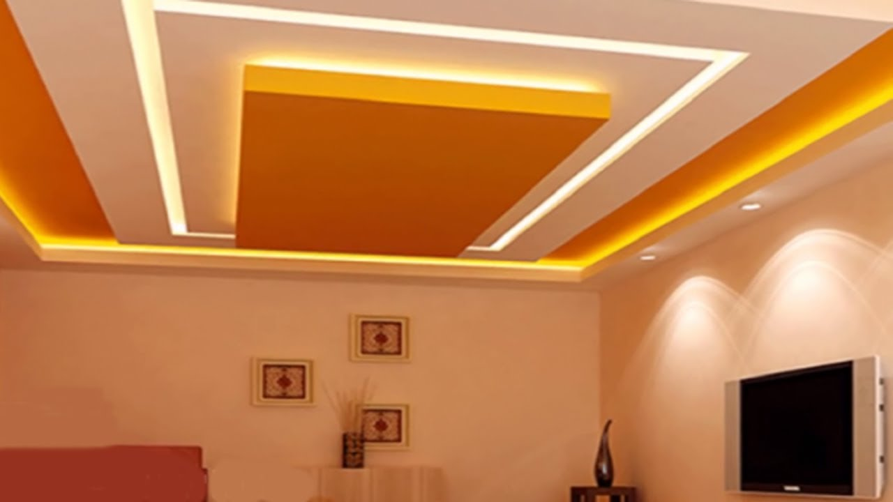 Ceiling Design For Bedroom and Hall Pictures 2018 | False ...