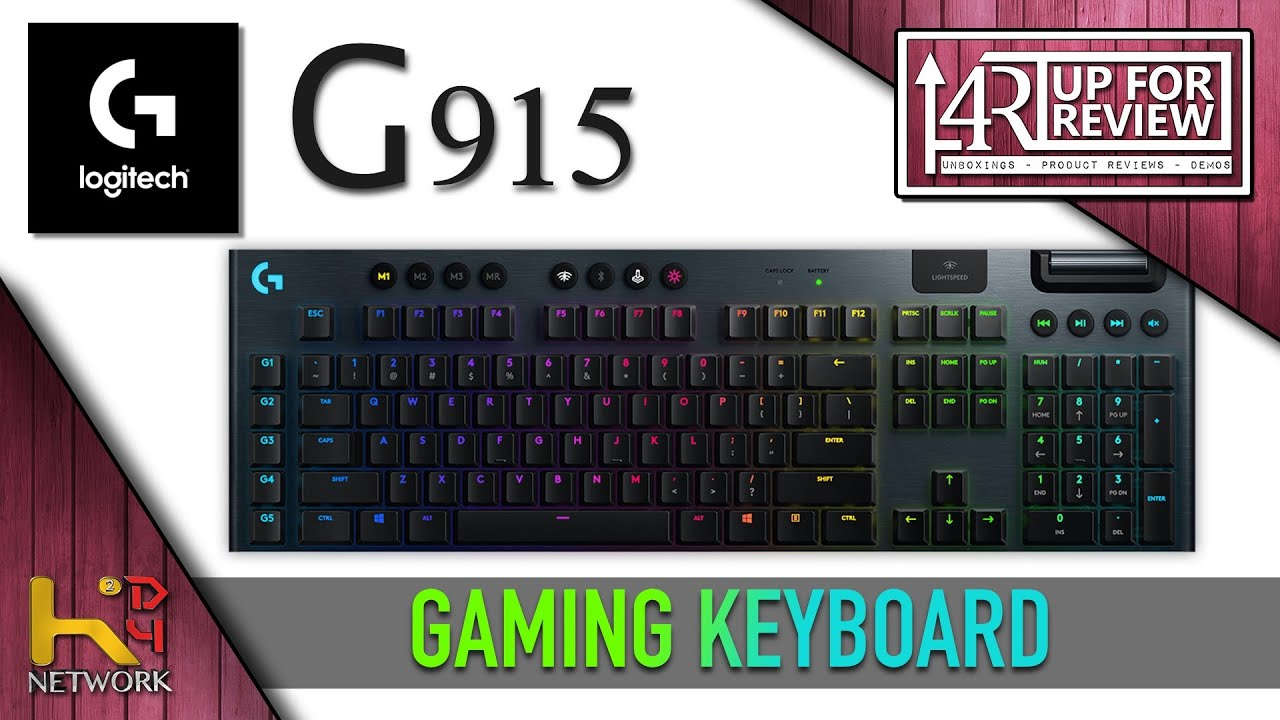 Logitech G915 Wireless Gaming Keyboard [UNBOXING & OVERVIEW]