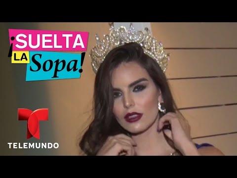 Suelta La Sopa  Cinthia de la Vega paso por experiencia similar a Alicia Machado  Entretenimiento