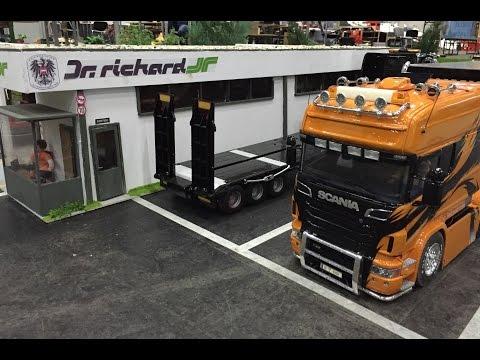 RC Truck Action! Modellbaumesse Wien/Vienna/Austria 2016