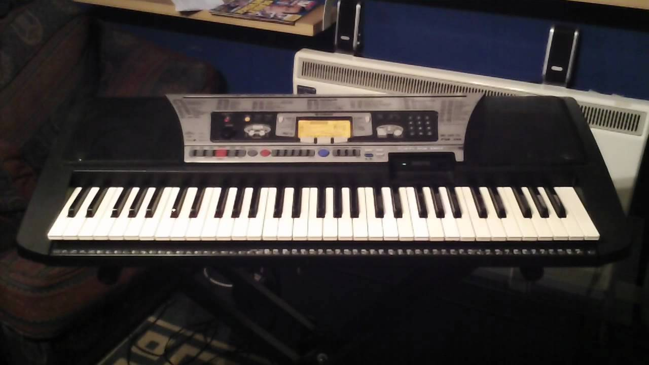 Yamaha psr 350 keyboard demonstration songs part 1 4 youtube for Yamaha keyboard parts