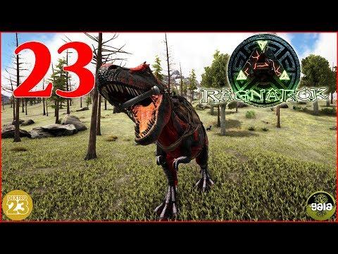 ARK Ragnarok • Dreadful T-Rex zähmen! • #23 [Let's Play Together/Gameplay/Deutsch] Gaia