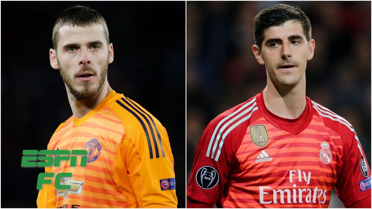 Thibaut Courtois for David De Gea swap in the works for Real Madrid & Man United?   Transfer Rater