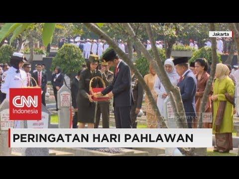 Peringati Hari Pahlawan, Presiden Jokowi Tabur Bunga di Taman Makam Pahlawan Mp3