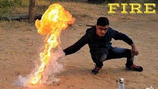 देखिए कैसे इसमें आग निकलती है | Boiling Wax + Water Experiment यह खतरनाक था | Blade XYZ