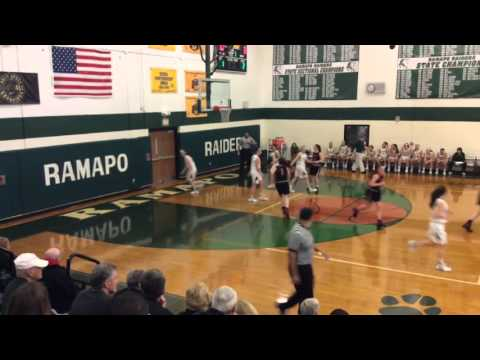 Northern Highlands vs. Ramapo Girls Basketball 3/8/16